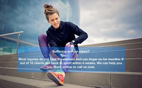 Sports injury treatment / Physio in Mansfield